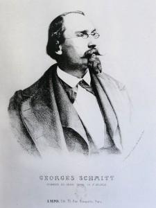 Georges Schmitt, Porträt von 1863