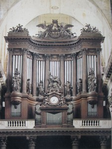 Orgel in Saint-Sulpice, Paris