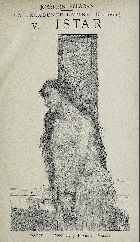Péladan, Istar; Fernand Khnopff